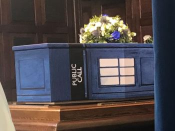 Tardis coffin